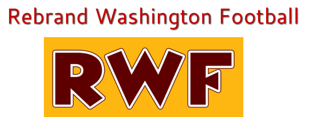 Rebrand Washington Football
